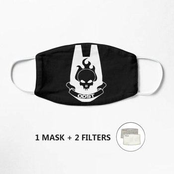 ODST Mask Kids Adult Washable PM 2.5 Protective Reusable Dust Mask Cartoon image