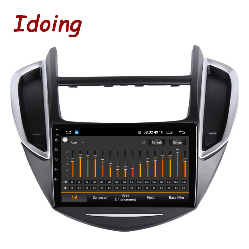 """Image 2 - Idoing 9""""2.5D IPS Car Android Radio Multimedia Player For CHEVROLET TRAX 2014 2016 4G+64G Octa Core GPS Navigation no 2 dinCar Multimedia Player   -"""