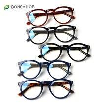 Boncamor Цвет очки для чтения оставить нейтральный или в круглой