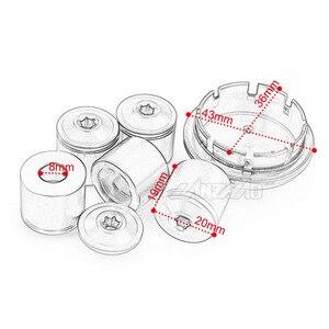 Image 5 - 오토바이 hubcaps 휠 사이드 커버 cnc 알루미늄 액세서리 piaggio vespa gts gtv 250 300 all year 2017 2018 2019 2020