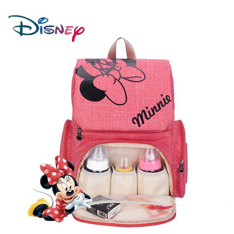 Disney Mickey Minnie bébé couches sacs Bolso maternelle poussette Nappy sac à dos maternité sac maman