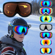 Ski Goggles Men Women UV Protection Cycling Snowboard Windproof Camping Hiking High Quality Adjustable Glasses  Winter  Warm