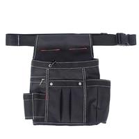 1pcs Electrician Tool Bag Waist Pocket Pouch Belt Storage Holder Maintenance Home Garden Supplies