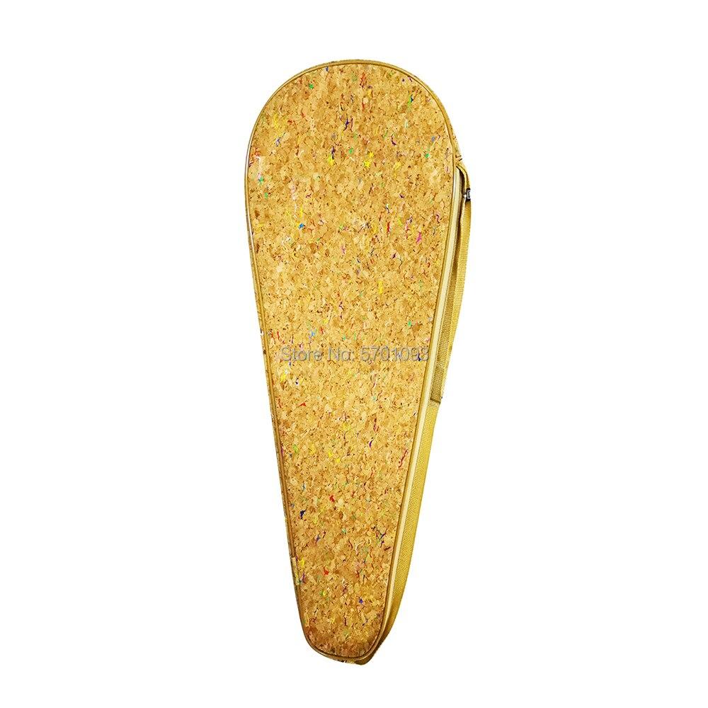 Design exclusivo série de grãos de cortiça raquete de badminton bagbag