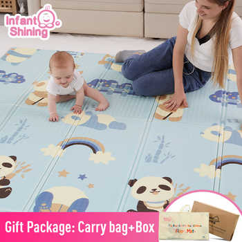 Infant Shining Baby Mat Playmat Kids Carpet Baby Play Mat 200*180*1cm Foam XPE Puzzle Game Pad for Infants Educational Soft Mat - DISCOUNT ITEM  47 OFF Toys & Hobbies