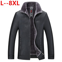 8XL 6X Winter luxurious Brand Genuine Leather Jacket Men New Style Luxury Lapel Collar Male Leather Suits For Men Sheepskin Jack