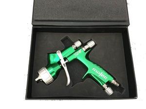Nuevo pulverizador de pistola de pintura de aire de lujo HVLP PLUS, boquilla de alimentación por gravedad de 1,3mm con tanque t, herramienta profesional de pintura corporal para coche, pistola pulverizadora