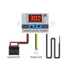 10 А 12 В 24 В 220 В переменного тока цифровой светодиодный регулятор температуры XH-W3001 для Arduino охлаждения нагревательный переключатель Термостат NTC датчик