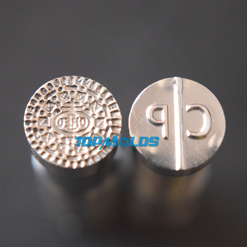 Oreo CP 10mm Tablet Die Pill Press Mold Candy Punching Die Custom Logo Calcium Tablet Punch Die