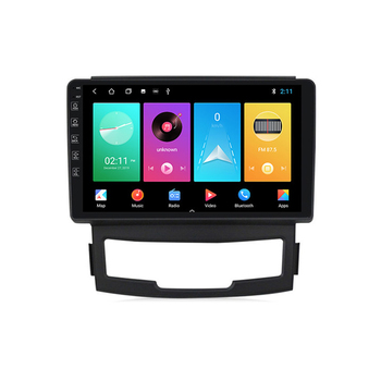 For SsangYong Korando Actyon 2011 2012 2013 9 inch Android 8.1 2 Din Car Multimedia Stereo Player Navigation GPS WIFI Radio image