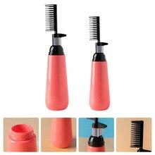 2pcs Hair Dye Comb Professional Salon Hair Coloring Dispenser Bottle Combs