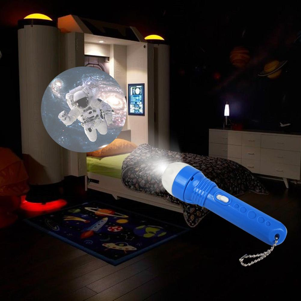 Baby Sleeping Story Flashlight Projector Lamp Toys Children's Dinosaur Sea World Light-up Toy For Kids Educational Sleep Toys