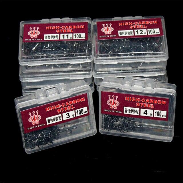 Best 100pcs/Box High Carbon Steel Fishing Hooks Barbed Fishhooks dd20850f12db3a8f9f55a3: 10 11 12 3 4 5 6 7 8 9