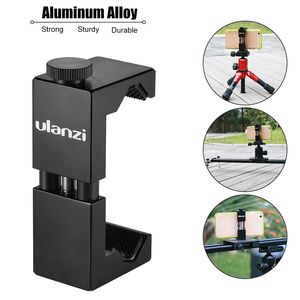 Image 4 - Ulanzi Metal Smartphone Clip Holder Frame Case Bracket Mount for iPhone for Huawei Samsung Portrait Outdoor Video Photography