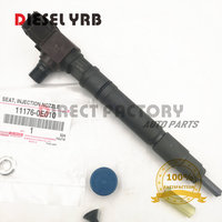 4 PCS Original new injector for T/oyota Hilux 2.8L 1GD 295700-0550 Toyota 23670-0E010