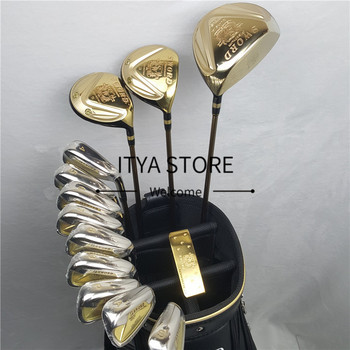 Golf club katana SWORD set Driver+3/5 fairway wood+irons+putter and Graphite shaft (No bag)