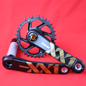 Image 1 - SRAM FC XX1 DUB EAGLE 1X12S 12 Speed Crank Mountain Bike Bicycle Part 34T/36T 170mm/175mm MTB Gold Crankset