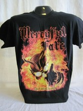 Mercyful destino t-shirts heavy metal rei diamante rock banda música novo 1000(China)