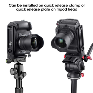 Image 5 - Universal DSLR Camera L Bracket Vertical Horizontal Switching Tripod Head Quick Release Plate Arca Swiss Compatible with Canon