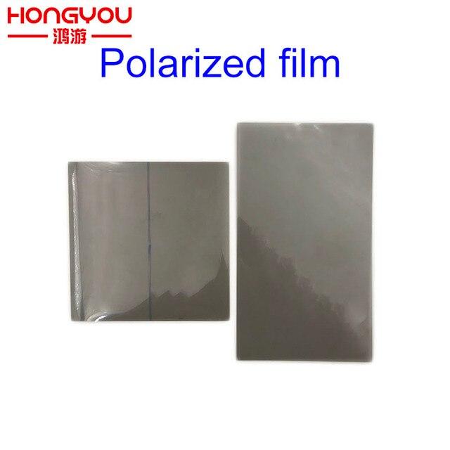 Polarize Polarize Filtre film levhası Için Gamboy GB DMG GBP GBA GBC GBA SP NGP WSC Arkadan Aydınlatmalı Ekran Değiştirmek Parça Polarize film