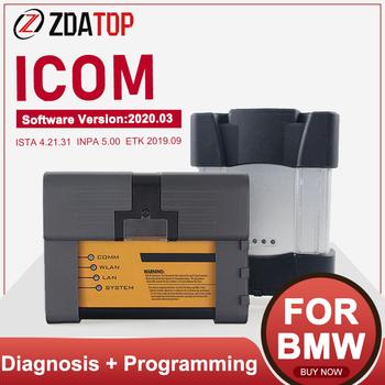 V2020 03 ISTA ICOM A2 + B + C ICOM następny narzędzie diagnostyczne i programujące WIFI dla samochodów obsługa wielojęzycznych Inpa Ista tanie i dobre opinie ZOLIZDA Newest Plastic Kable diagnostyczne samochodu i złącza 2 5kg 2019 12 Use AHCI Boot