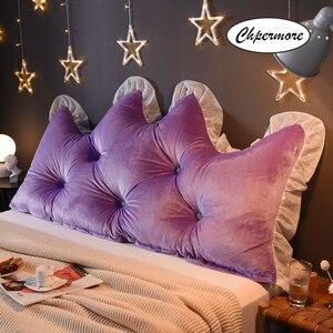 Image 4 - Chpermore 多機能 Fallei クラウンロング枕シンプルなベッドクッションベッドソフトモダンシンプルベッド睡眠のための枕