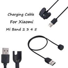 Провод для зарядного устройства для Xiaomi Mi Band 5 4 3 2, смарт-браслет для Mi band 5, зарядный кабель Miband 4 3, USB-кабель для зарядного устройства