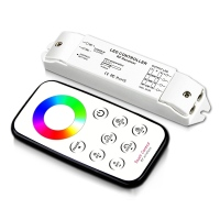 Bincolor T3 Mini RGB RF Rireless Remote R3 Receiver Controller For LED Strip Light Lamp DC12-24V