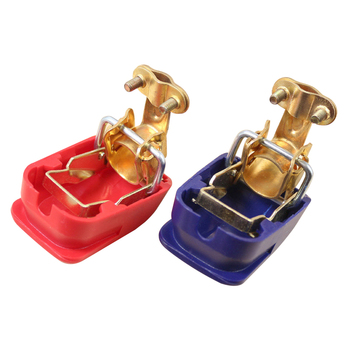 Car 12V Car Battery Terminals Connector Switch Clamps Quick Release Lift Off Positive & Negative Car-styling Auto Accessories universal car battery terminal connector battery 2pcs quick release battery terminals clamps toggle switch parts for truck auto