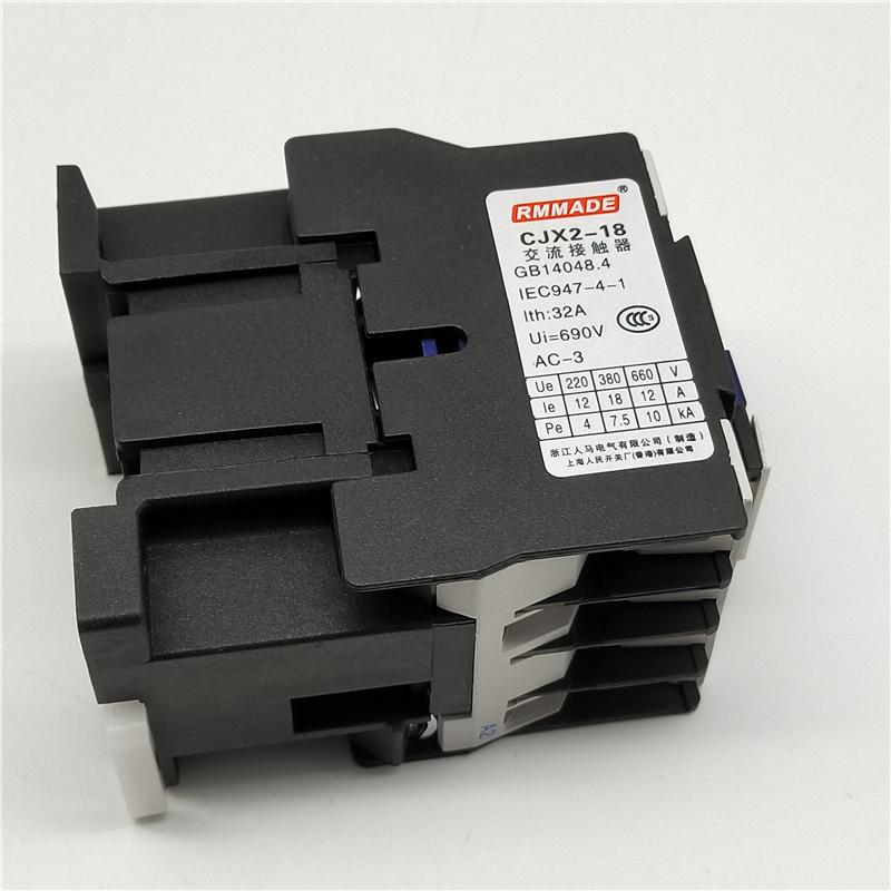 H796abf539e0047048d502313b45d938ef - 1pcs CJX2-1810 LC1 AC Contactor 18A 3 Phase 3-Pole Coil Voltage 380V 220V 110V 36V 24V 50/60Hz Rail Mounted 3P+1NO Normal Open
