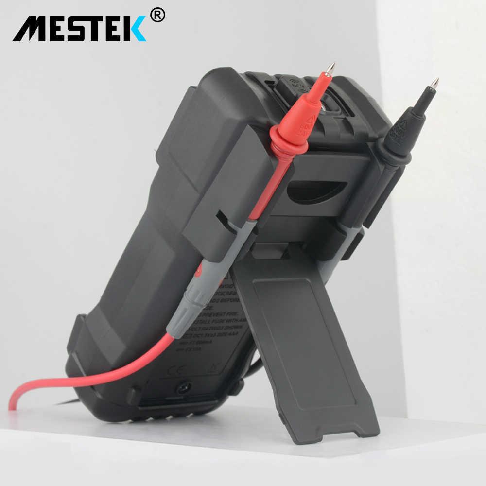 MESTEK 디지털 멀티 미터 6000 카운트 고속 자동 범위 테스터 지능형 NCV True RMS 온도 범용 멀티 미터