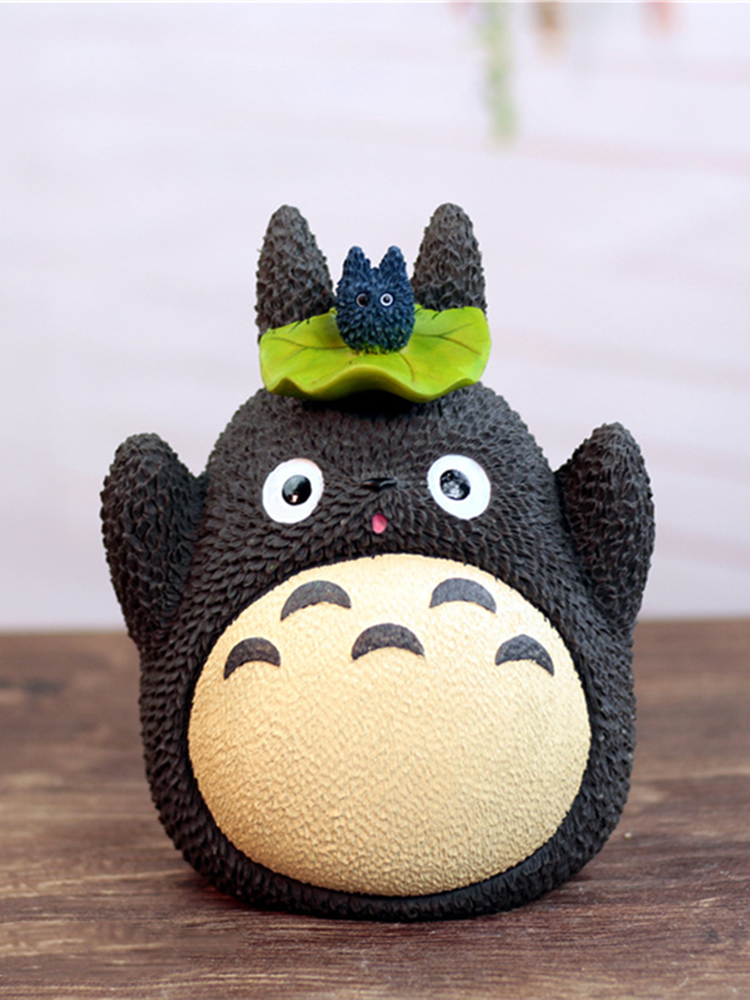 Top-Ornament Money-Box Totoro for Home Cute Toys Party Student Birthday-Gifts Souvenir