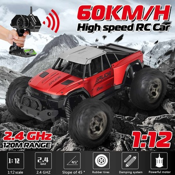 1:12 60Km/h RC Remote Control Car High Speed RC Electric Monster Truck Off Road Vehicle RC Cars Gifts toys For Children Kids
