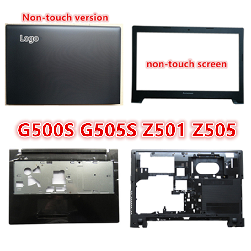 New Laptop For <font><b>Lenovo</b></font> <font><b>G500S</b></font> G505S Z501 Z505 LCD Back Cover Top Cover/LCD Front Bezel/Palmrest/Bottom Base Cover <font><b>Case</b></font> image