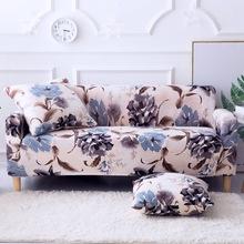 Big Flower 1 2 3 4 pokrowiec na sofę All-inclusive elastyczne pokrowce na siedzenia pokrowce na kanapę pokrowce na pojedyncze siedzenia podwójne siedzisko tanie tanio DIFUNINA Rozkładana okładka Drukowane Nowoczesne Floral Podwójne siedzenia kanapa 100 poliester Printed floral Animals Geometric Joyous plaid plant striped solid endless