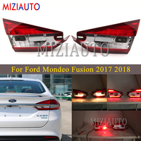 Rear tail light Inner side For Ford Mondeo Fusion 2017 2018 Brake Light Rear Bumper Light Tail Stop Lamp Car Accessories