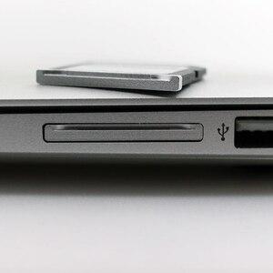 """Image 4 - BaseQi Aluminium Micro SD zu SD Speicher Karte Adapter Stealth Stick Kartenleser Für MacBook Pro Retina 13 """"/15"""" und MacBook Air 13"""""""