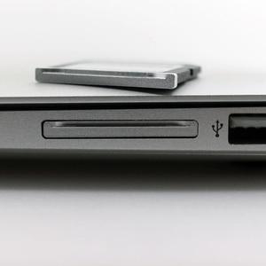 """Image 4 - Baseqi アルミマイクロ sd sd メモリーカードアダプターにステルスドライブカードリーダー macbook pro の網膜 13 """"/15"""" と macbook air の 13"""""""