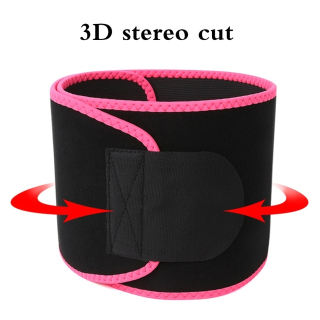 Waist Trimmer Belt Weight Loss Sweat Band Wrap Fat Tummy Stomach Sauna Sweat Belt Sport Belt v 4