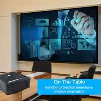 HD 1080P Proiettore HDMI USB VGA AV Uscita Audio Per Il Telefono Mobile Casa Outdoor Gaming LFX-ING