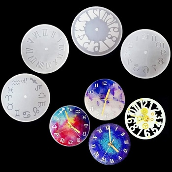 Silicone Mold For Jewelry Clock Resin Silicone Mould DIY Accessories Jewelry Making Tools Handmade Crafts Backpack Pendant jewelry saw frame adjustable jeweler making diy tools blade handmade crafts arc jewelry tool