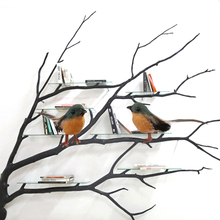 12PCS Robin Bird Christmas Tree Decoration Craft  Artificial Feather Christma tree Merry Ornaments