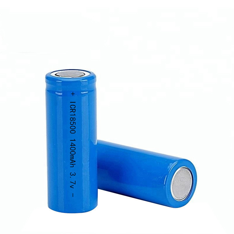 2019 <font><b>ICR</b></font> <font><b>18500</b></font> <font><b>battery</b></font> Garden Solar Light LED flashlight torch 1400mAh 3.7V Li-ion Rechargeable <font><b>Battery</b></font> image
