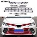 Для Toyota Camry 2018 2019 2020 LE / XLE передний двигатель машина защита от Насекомых Сетка решетка гриль насекомых экран внешние аксессуары