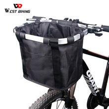 West biking велосипедная корзина из полиэтиленовых трубок для
