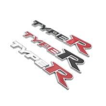 Car Styling Metal Sticker Typer Auto Emblem Rear Trunk Badge Decal