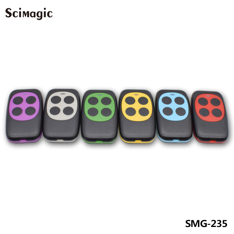 433mhz Controller Colorful Electric Garage Door Remote Control Key FOB Cloning Cloner 4 Keys Gate ControllerHW