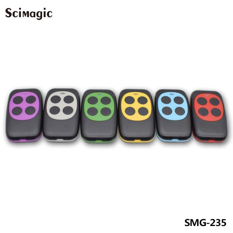 433mhz Controller Colorful Electric Garage Door Remote Control Key FOB Cloning Cloner 4 Keys Gate ControllerHW