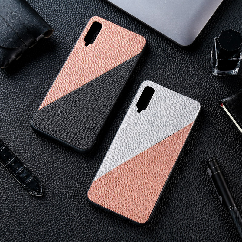 Silicon <font><b>Cloth</b></font> Fabric <font><b>Case</b></font> For <font><b>Samsung</b></font> Galaxy A50 A70 A40 A20 A30 A10 A51 A71 A10S A20s A50S A60 A6 <font><b>A8</b></font> Plus A9 A7 <font><b>2018</b></font> <font><b>Case</b></font> Cover image