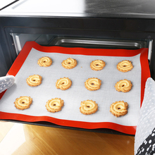Baking-Mats Cookie-Pad Silicone Batters-Flour Fondant Rolling Non-Stick High-Temperature-Resistant